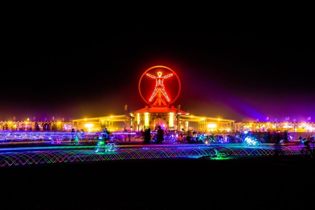 Let there be colours – Burning Man Festival