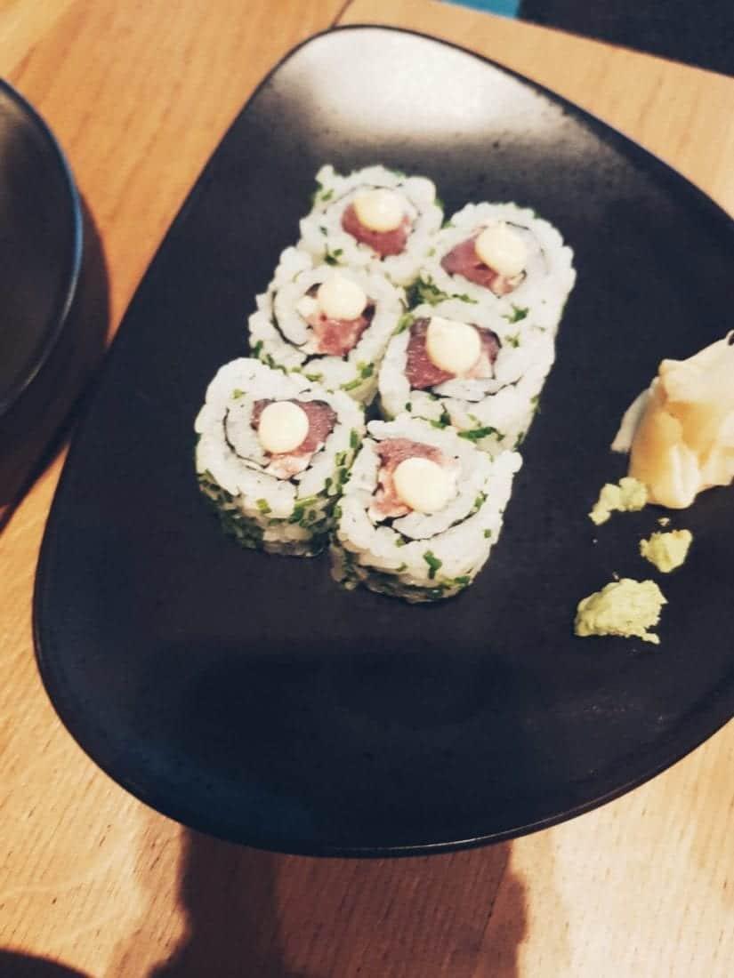 sushi in Riyadh