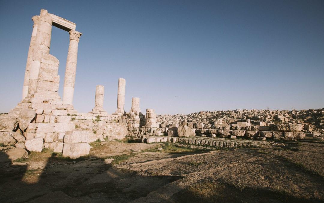 Jordan Amman citadel
