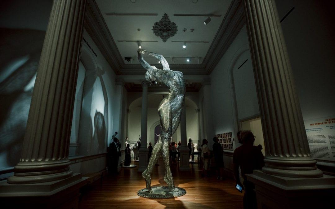 Piękno Burning Mana zamknięte w Galerii Sztuki Renwick w Waszyngtonie