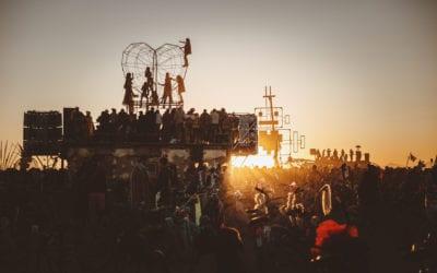 Magia Burning Man 2019 uchwycona na zdjęciach