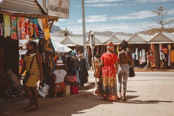 local bazar Madagascar