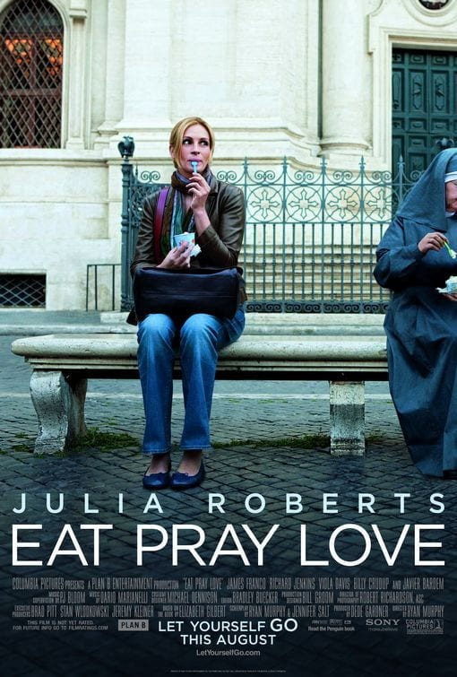 eat pray love poster travel movie